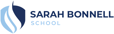 Sarah Bonnell School Logo Desktop