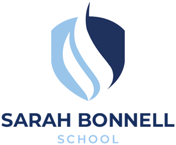 Sarah Bonnell School Logo Mobile